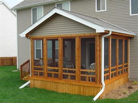 Screened In Porch Ideas Cedar Screen Porch Ames Screened Patio Designs