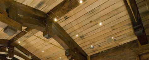 Nine Wood Ceiling by Reclaimed Wood Ceiling Ideas Post 9