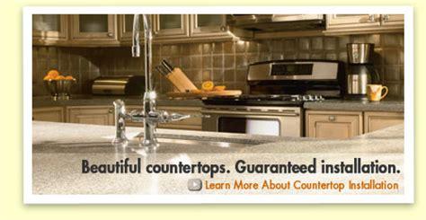 Countertop Installation Home Depot - countertops installation the home depot