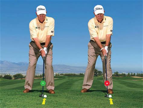 golf swing hitting behind the ball lords of the links tip how to hit a hybrid
