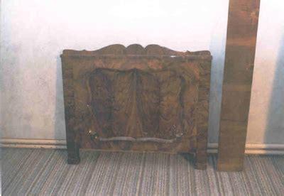 bett kopfteil antik 183 antiquit 228 ten kirsch 183 biedermeier bett