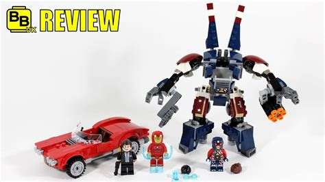 76077 Lego Marvel Heroes Iron Detroit Steel Strikes lego marvel iron detroit steel strikes 76077 set