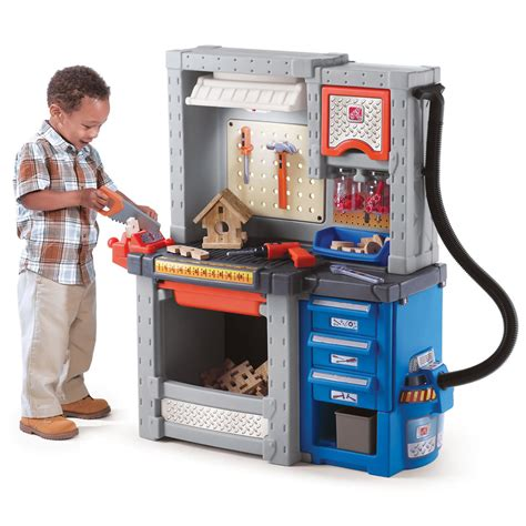 deluxe workshop pretend play toys step2