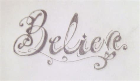 word believe tattoo designs believe ambigram design for