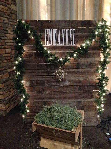 christmas decorating ideas for churches 4 panels of jesus church stage design ideas