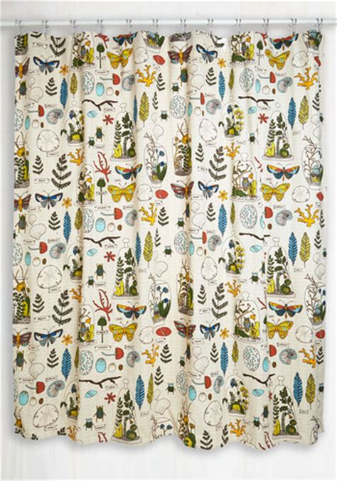 modcloth shower curtain decor on display shower curtain mod retro vintage bath