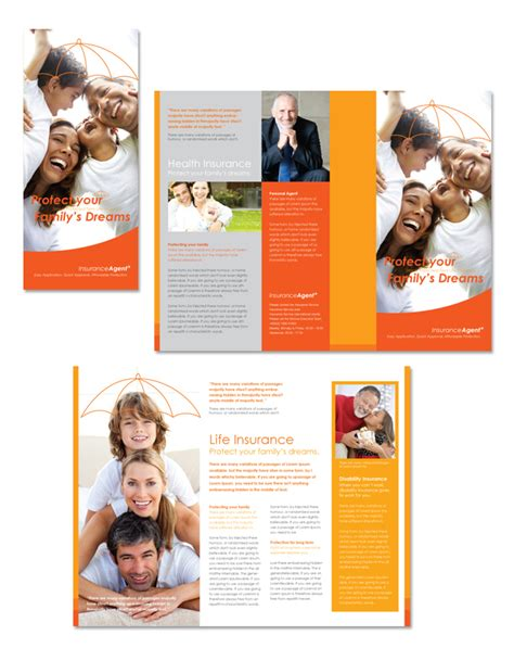 Insurance Information Brochure Outline by Insurance Tri Fold Brochure Template Dlayouts Graphic Design