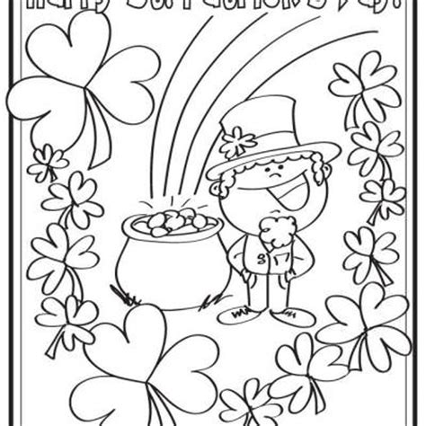 printable coloring pages st s day happy st s day coloring page printable tip junkie