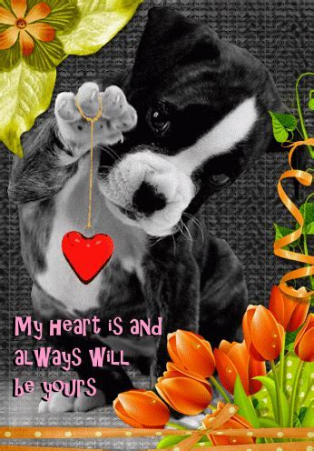 My Heart Is Yours. Free Cute Love eCards, Greeting Cards
