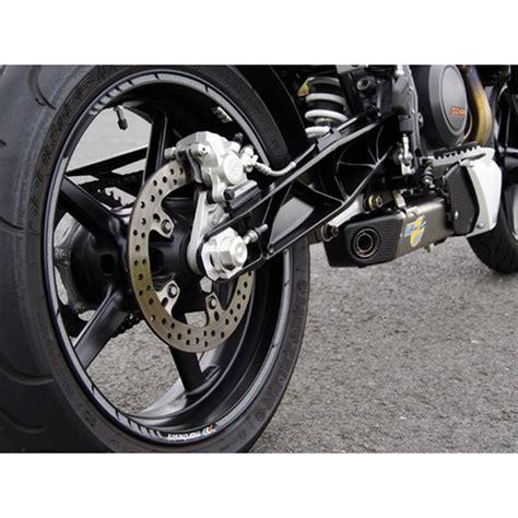 Felgenrandaufkleber Motorrad Silber by Felgenrandaufkleber Silber Gp Style