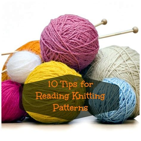 knitting pattern reading 10 tips for reading knitting patterns craftfoxes