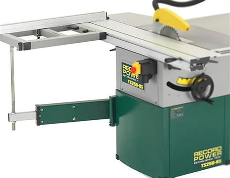 cabinet makers table saw record power ts250rs 10 quot table saw with heavy duty sliding