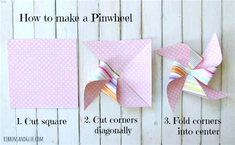 How To Make A Pinwheel Out Of Paper - cupcake box for any occasion