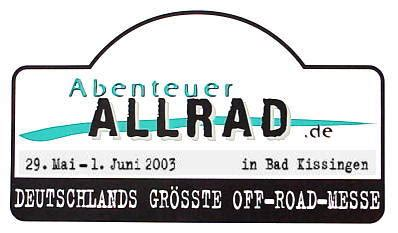 Motorrad Einfahren Wie Viel Km by Messe Quot Abenteuer Allrad Quot Bad Kissingen 2003
