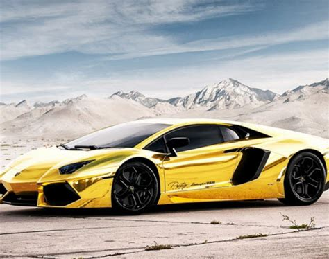 Lamborghini Aventador Lp 700 4 Project Au 79 Gold Custom
