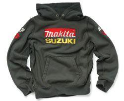 Suzuki Sweatshirt Makita Suzuki Sweatshirt Grey