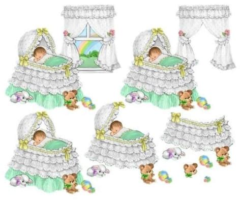 Baby Decoupage - details about 205 decoupage baby christening sheets arts