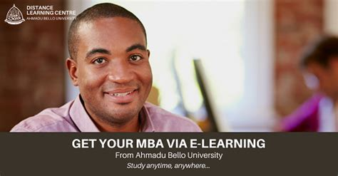Mba E Learning Uk by Abu Zaria Mba Is Nuc Accredited E Learning Mba