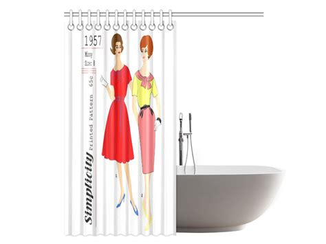 shower curtain sewing pattern simplicity patterns for shower curtains curtain