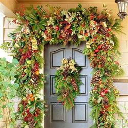 home and garden christmas decoration ideas 20 creative christmas front door decorations