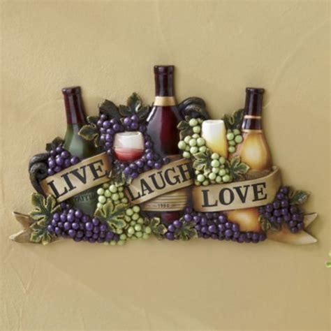 citynoise life cooking home decor live laugh love wine wall art from midnight velvet the