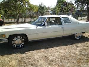 1976 Cadillac Coupe Buy Used 1976 Cadillac Coupe De Ville Yellow