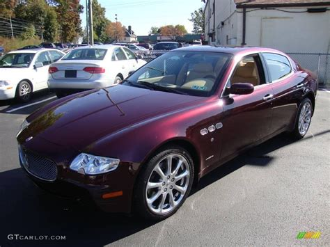 maserati metallic 2007 bordeaux pontevecchio dark red metallic maserati
