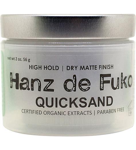 Pomade Hanz De Fuko Claymation buy hanz de fuko x by vilain pomade wax byvilain claymation modify pomade hybridized wax