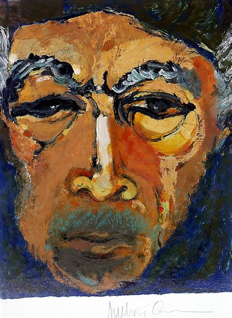 Painting K by Anthony Quinn