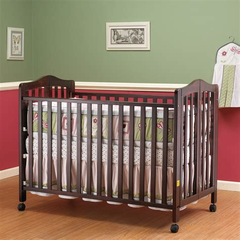 Orbelle Cribs by Orbelle Size Folding Crib Cherry Cribs At