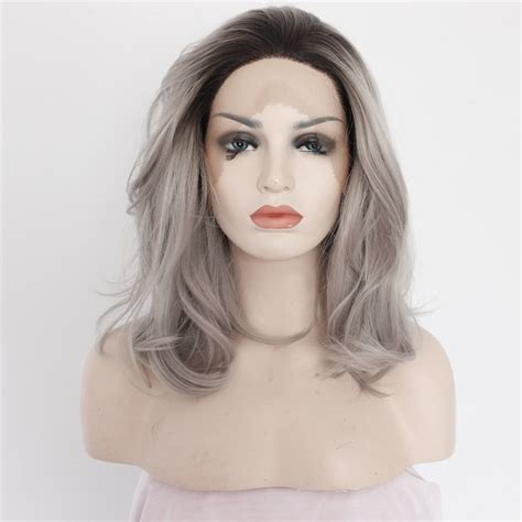 Brown Long Hair With Grey Aroung Front | brown long hair with grey aroung front new ombre grey