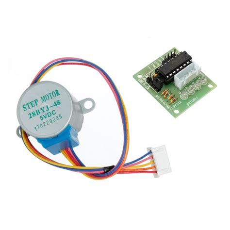 Uln2003 Stepper Motor Motor Stepper 28ybj 48 dc 5v 4 phase 5 wire stepper motor with uln2003 driver board alex nld