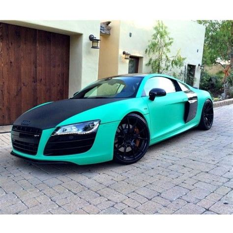 matte teal car nyjah huston goes matte green audi cars