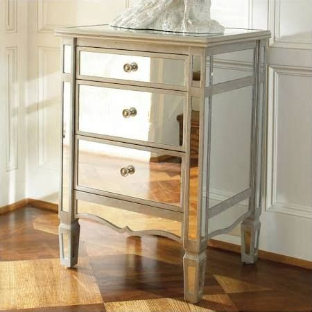 Pottery Barn Mirrored Nightstand by Best 25 Mirrored Nightstand Ideas On Mirror