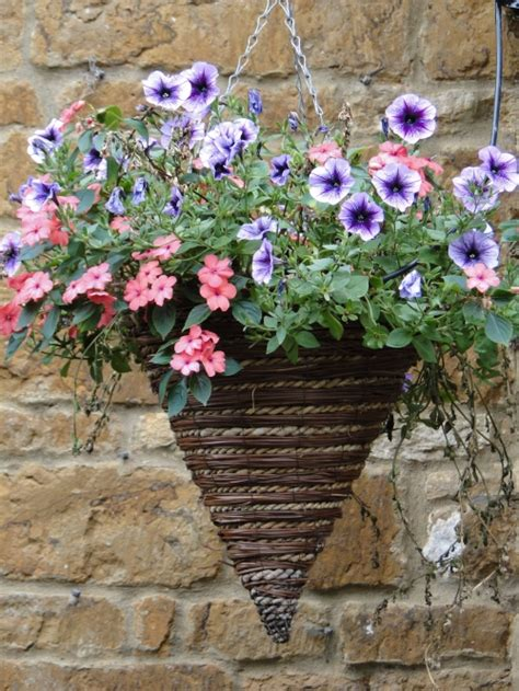 Container Flower Gardening Ideas Container Gardening Ideas Hanging Flower Baskets