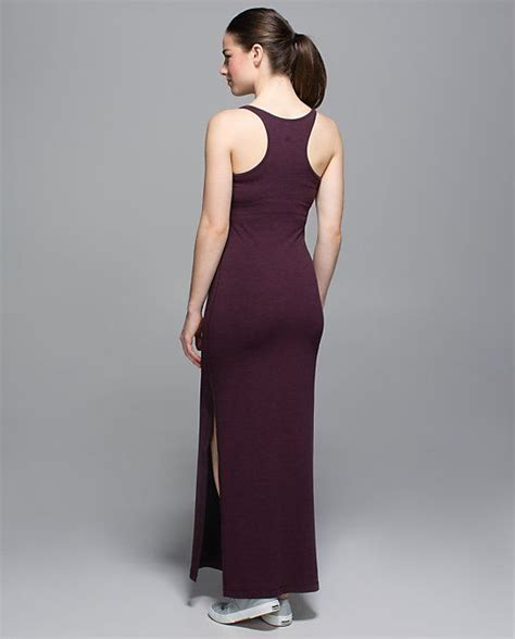 D Rahma Maxi lululemon refresh maxi dress in heathered bordeaux drama black cherry ll