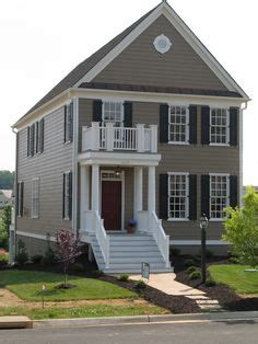 green street exterior house color contenders vinyl siding color tuscan clay white trim dark gray