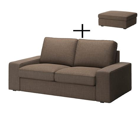 ikea sofa and footstool ikea kivik 2 seat sofa and footstool slipcovers loveseat