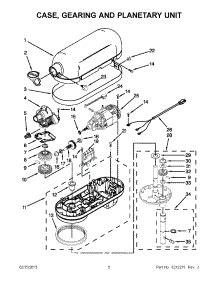 parts for kitchenaid kp26m1xer5 mixer appliancepartspros