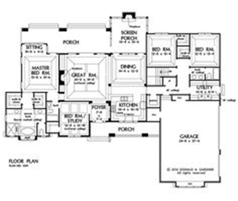 house plans with kitchen in front plan front on