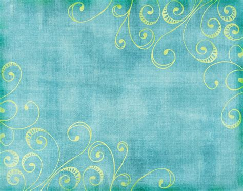 vintage floral turquoise powerpoint template turquoise and gold wallpaper wallpapersafari