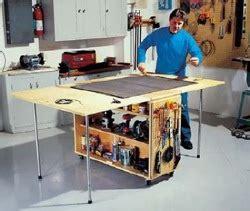 Woodwork Build Folding Workbench Pdf Plans