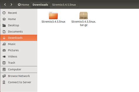 tutorial install linux ubuntu 14 04 install stremio 3 4 5 on ubuntu 15 04 14 04 15 10