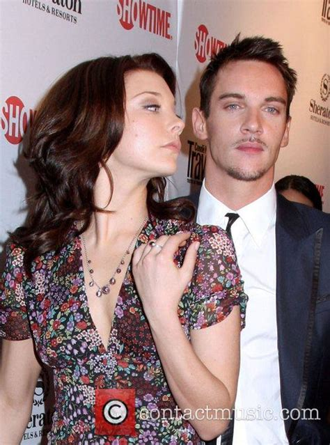 natalie dormer and jonathan rhys meyers jonathan rhys meyers world premiere of the tudors