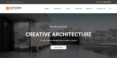 architecture design websites 8 best wordpress themes for exterior design architecture