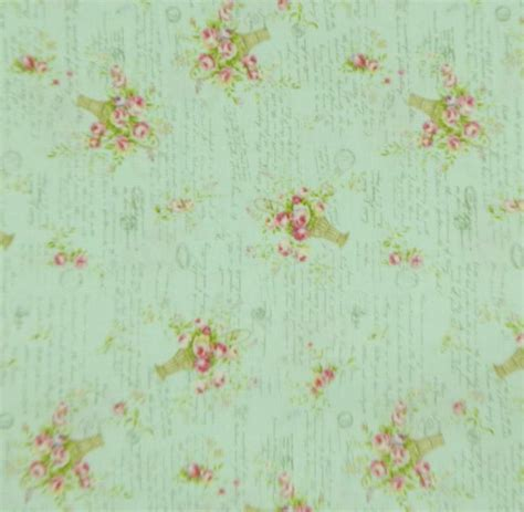 Patchwork Quilting Fabric - patchwork quilting fabric mint green floral sewing