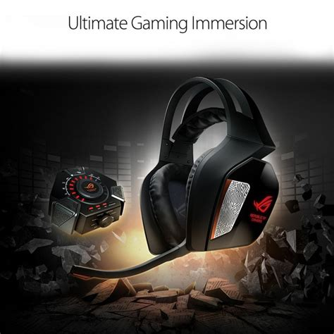 Asus Laptop Headphone Driver asus rog centurion 7 1 surround sound wireless gaming headset 10 discrete drivers noise