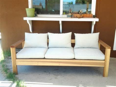 easy diy sofa wood 2x4 outdoor sofa couch free plans diy simple easy