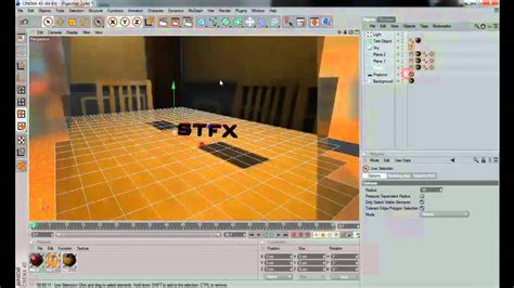 tutorial video mapping 3d cinema 4d basic projection camera mapping 3d integration