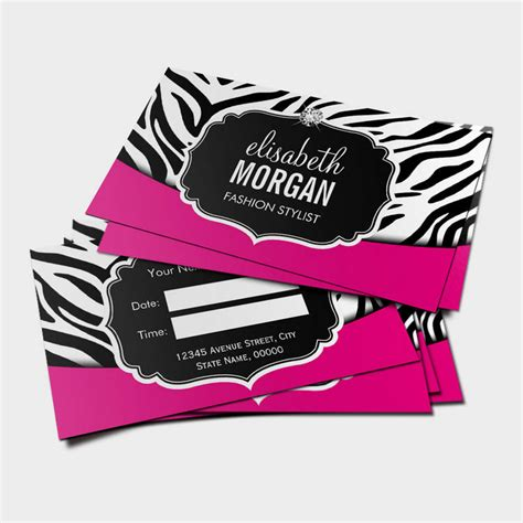 Zebra Card Studio Templates by Clinical Psychologist Psychology Psi Symbol Business Cards